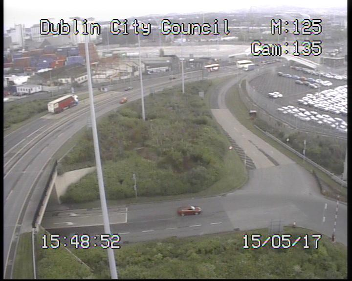Dublin Port Tunnel Toll Plaza