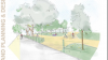 Project Fairview Park and Village Sketch of New Esplanade By Changing Rooms
