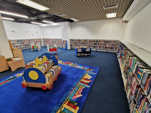 Central Library children's section
