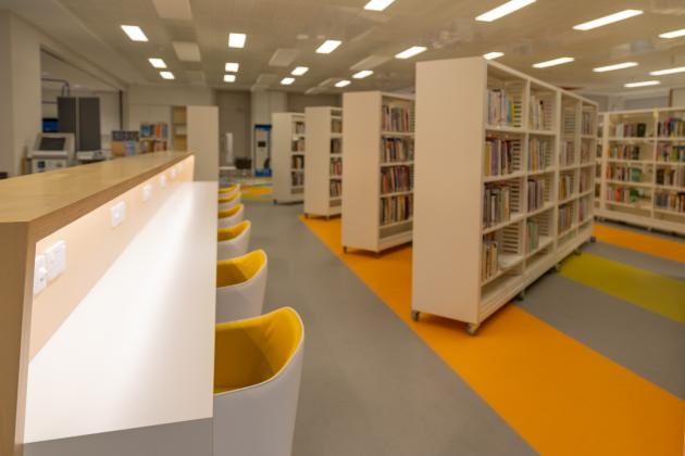 Coolock library interior