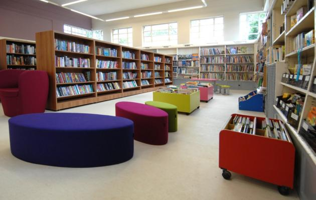 Image of a library
