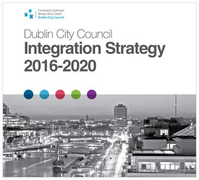 Integration Strategy publicity poster